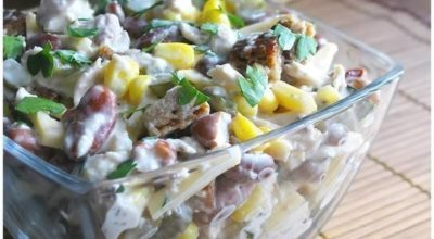 ТОП-6 салатов с куриным филе