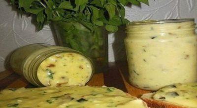 Как приготовить домашний плавленный сыр с шампиньонами!