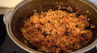 Ферганский плов: Вкуснее ничего не кушала