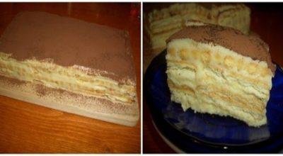 Торт «А-ля тирамису» — намного вкуснее и дешевле!
