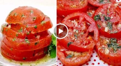 Новинка в мире закусок! Быстрая и супер вкусная закуска из помидоров!