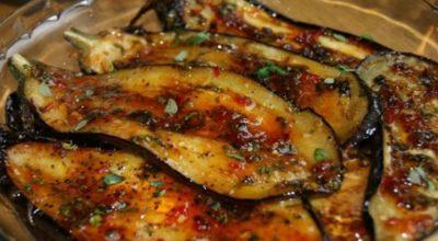Быстрые пикантные баклажаны: лучшая закуска на все случаи жизни!