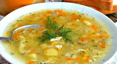 Как у бабушки в деревне — Суп-затируха. Просто и очень вкусно!