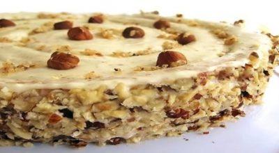 Ореховый торт. Для тех, кто любит орехи
