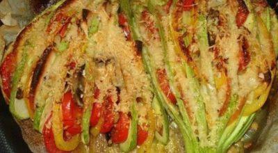 Прекрасный легкий ужин — Кабачковый веер