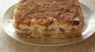 Торт без выпечки «Банановое блаженство»