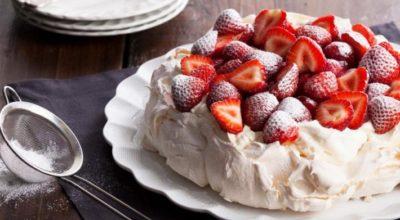Восхитительный торт Павлова