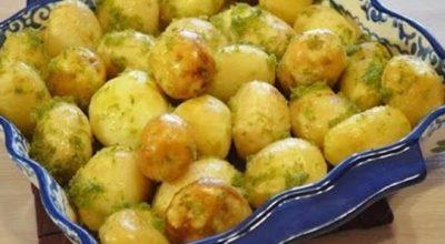 Бесподобная чесночная картошка