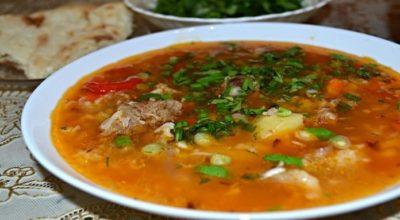 Очень вкусный узбекский суп «Мастава»