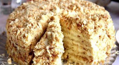 Самый вкусный торт «Наполеон»