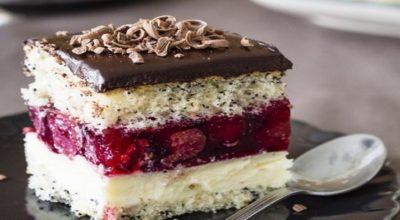 Торт «Вишневая фантазия»