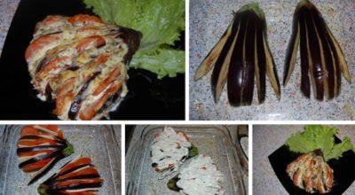Такое блюдо украсит любой стол: Баклажаны «Жар-птица»