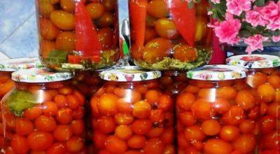 Закуска на миллион — помидоры, маринованные с семенами горчицы!