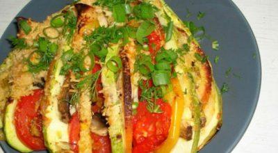 Запеченные овощи с куриной грудкой никого не оставят равнодушным!