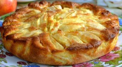 Попробовав кусочек такого пирога, вы навсегда забудете о шарлотке. Теперь у вас есть новый любимый рецепт!