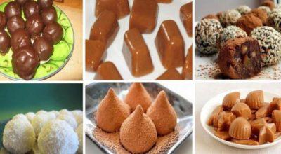 ТОП-6 рецептов наивкуснейших домашних конфет