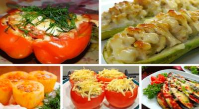 5 рецептов фаршированных овощей
