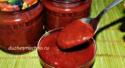 Обалденный сливовый соус «Ткемали»!