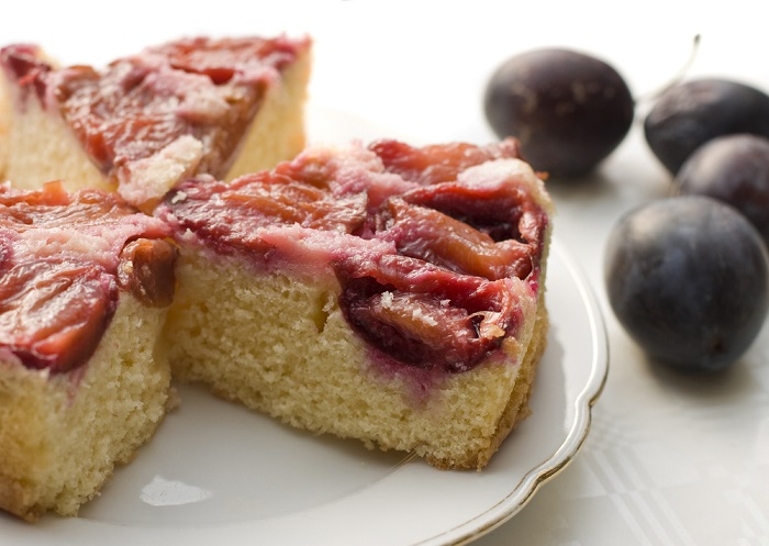 сливовый пирог американских домохозяек