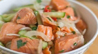 Салат из рыбы по-корейски: съедается в один присест. Ну очень удачный маринад