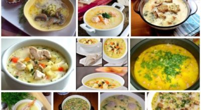 10 рецептов сырных супов