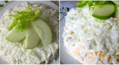 Салат «Селедка под белой шубой»: свежая интерпретация любимого блюда