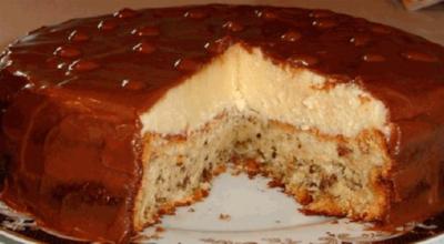 Торт «Эскимо» очень нежный на вкус!