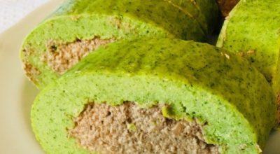 Закусочный рулет «Зелёный»