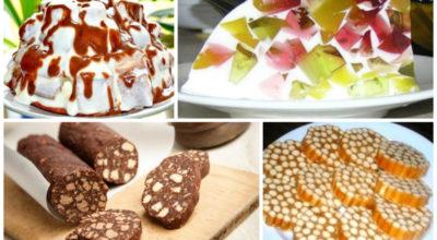 13 простых и очень вкусных сладостей без выпечки