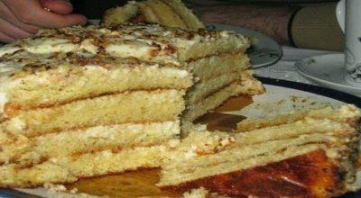 Самый простой и самый нежный торт — ЛАКОМКА