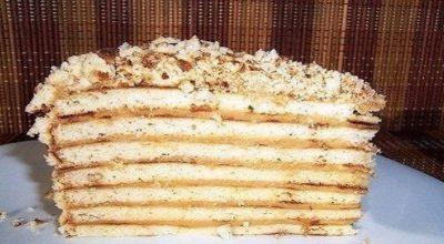 Торт «Cекунда» без выпечки