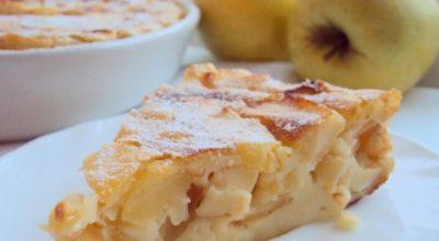 Необычайно легкий рецепт яблочного чизкейка