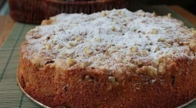 Обалденный яблочный пирог «Домашний» — пирог получается очень очень вкусный!