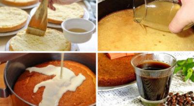 Вкуснейшие пропитки для ароматного бисквита. 13 рецептов
