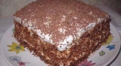 Торт «Мечта Жизни». Готовится за несколько минут