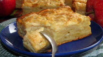 Яблочный пирог по рецепту Симили – знаменитых итальянских сестер-кулинарок