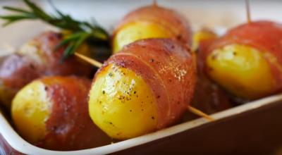 Как из обычной картошки сделать праздничное блюдо на новый год