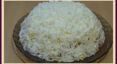 Обалденно вкусный салат «Облачко»: украсит любой стол