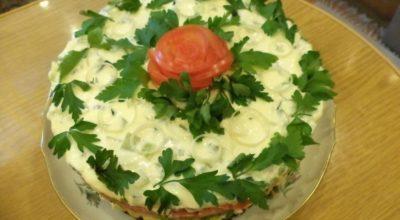 Лучшая подборка праздничных салатов! ТОП-35 вкусных рецептов!