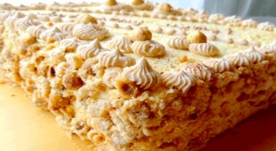 Безумно вкусный настоящий «Киевский торт»
