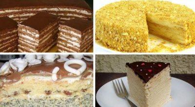 ТОП-6 самых вкусных домашних тортов