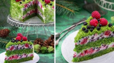 Торт «Лесной мох» — новинка наступающего 2019