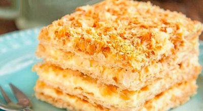Торт Наполеон — 8 лучших рецептов
