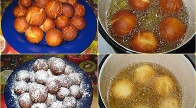 Вкусные творожные шарики из нашего детства