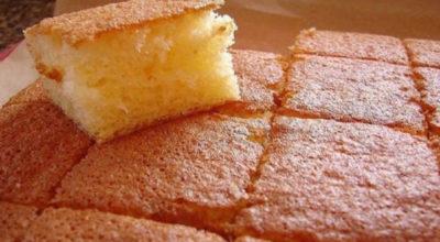 Бисквит за 10 минут!