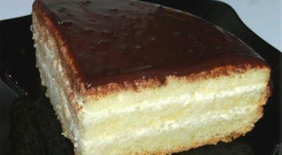 Бисквитный торт «Чародейка». Изумительный вкус, знакомый с детства!