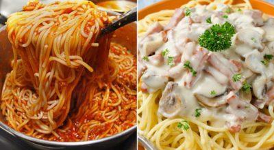 Как приготовить итальянскую пасту. 5 способов превратить дешевые спагетти в обалденный ужин