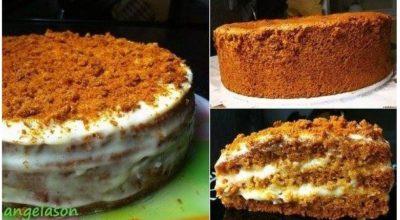 Классический торт МЕДОВЫЙ. Нежный и невероятно вкусный