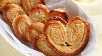 Несмотря на простоту приготовления печенье «Слоеные ушки» получаются обалденными