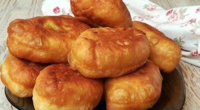 Пирожки на кефире за 30 минут